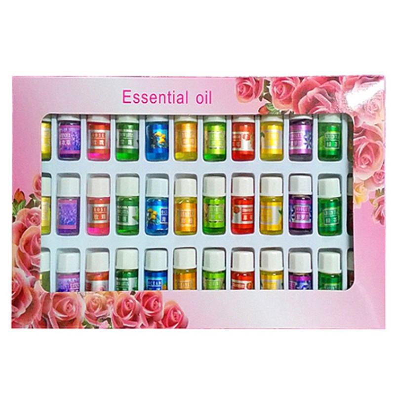 skin care Aromatherapy essential Oil 12 Kind 3ML Fragrance Aromatherapy Oil Natural Spa Oil Pack 36pcs=1sets 2017 New Style(China (Mainland))