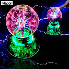 Mabor Magic USB Plasma Crystal Ball Light For Desktop Laptop Disco Stage Bedroom(China)