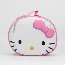 PU Hello Kitty Lady's Cosmetics Bag & Holder Pouch Makeup Beauty BIG Storage BAG BOX cute make up bags