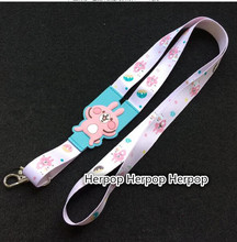 Wholesale New 1Pcs Popular Kanahei rabbit Cartoon Neck Straps Lanyards Mobile Phone,ID Card,Key Condole belt Mixed