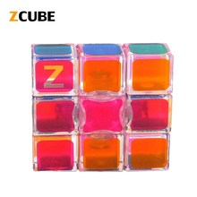 ZCUBE 1x3x3 Classic Magic Toy PVC Sticker Cube Puzzle Smooth Cube Puzzle Cube Neo Cube Profissional Toys