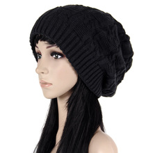 2016 NEW Sweater Fashion Hats For Women Design Caps Women Winter Hat Knitted Feminino Twist Pattern BB0025(China)