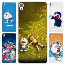 Ocean Cartoon Cat Doraemon Clear Cover Case for Sony Xperia Z1 Z2 Z3 Z4 Z5 M4 Aqua M5 XA XZ C4 E5 l36h