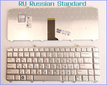 Russian RU Version Keyboard For Dell XPS M1330 M-1330 M-1530 M1530 M 1530 M1410 V1500 Laptop Silver
