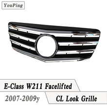 2007-2009y W211 Grille CL Look Grill For Mercedes W211 Facelifted 4D Sedan Benz E-class model use