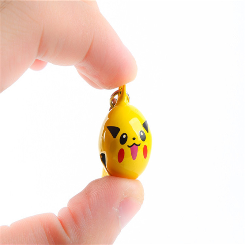 1Pcs-Cartoon-Kawaii-Pokemon-Pikachu-Elf-Ball-Keychain-Keyring-Bell-Toy-Lover-Key-Chain-Rings-For (4)