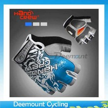 Buy Bicycle Half Finger Glove Lycra Cycling Shockproof Mittens Bycicle Silicone GEL Short Finger Gloves Men Women for $5.50 in AliExpress store