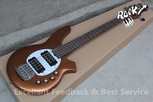 Hot Selling Quality and Cheap 5 String  Music man Bass Ernie Ball Guitar Active China OEM Musical Instruments