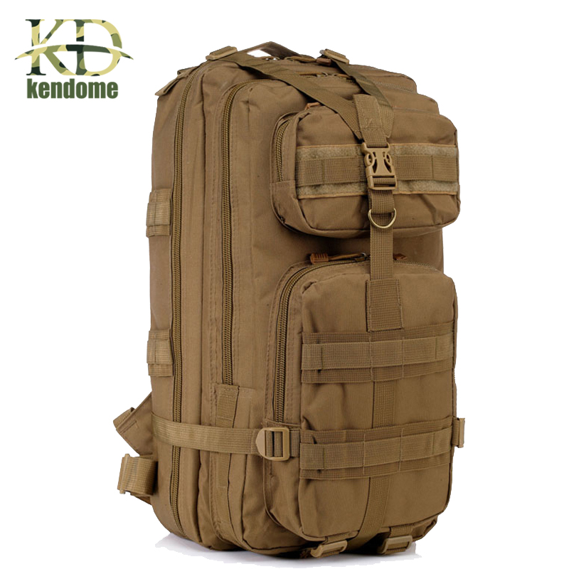 Plus Big Top Quality Waterproof Men Women 3P Military Tactical Backpack Large Camping Hiking Outdoor sportBags Mochila Escolar <br>