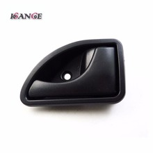 ISANCE Black Interior Door Handle Front Right For Renault 1997 1998 1999 2000 2001 2002 2003 2004-2007 Kangoo & 1997-2003 Twingo(China)