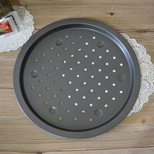 12 inch Non-stick Bakeware pizza pan , pizza tray with  perforated, baking tools  free shipping