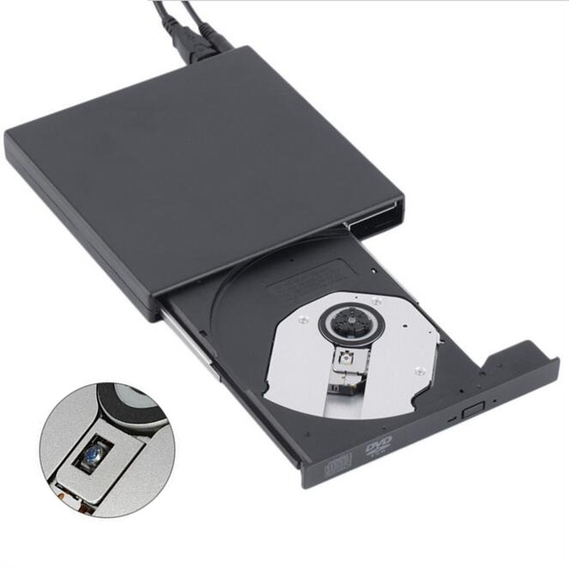 USB 2.0 External Optical DVD Drive Combo CD RW Bur...