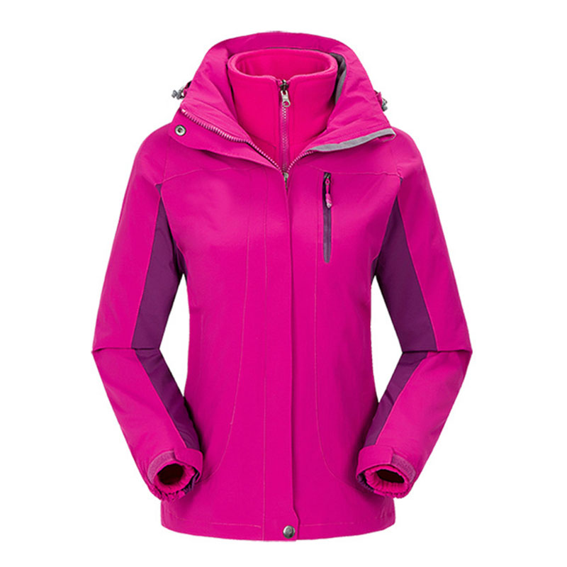 2016 Women New Winter Fleece Camping Jackets Waterproof Windproof Thermal Breathable Polartec Clothing Removable Liner Coats<br><br>Aliexpress