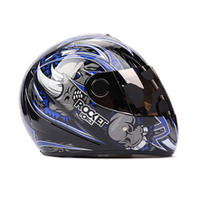 Brand Tanked  Morden Many Color Motorcycle Helmet Full Face Dot Graffiti Skeleton Cascos Para Moto S/M/L T-108