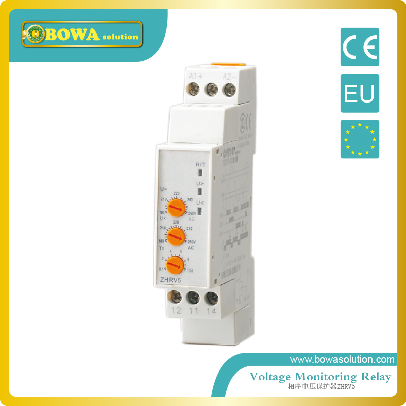 Voltage monitoring relay ZHRV5-04 or 05 or 06<br>