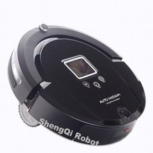 Auto Vacuum cleaner Good Robot Vacuum Cleaner with UV Lamp A320 Vacuum clean mop Robotic Aspirador  Black