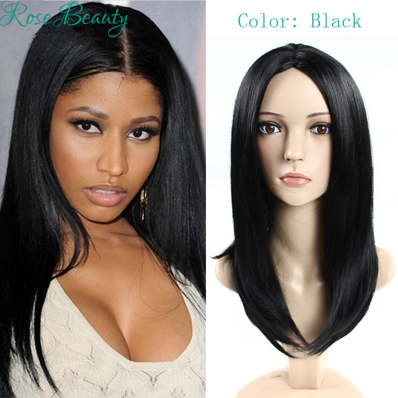 cosplay synthetic wigs red wig Black wig Heat Resistant Full Wig speruca cosplay Cheap Long straight hair styles short fine hair<br><br>Aliexpress