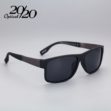 Classic Fashion Polarized Black Sunglasses Men Eyewear For Driving Fishing Square Sun Glasses With Box Gafas PL268(China)