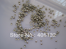 1 Bag OD-38-Silver Free Shipping 3D Small 3MM Silver Star Metal Stud Shiny Nail Decoration Lovely Outlooking