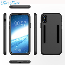 Time Tower Buy 1 Get 1 Free For Apple IPhone X Cover Silicone Back Soft TPU Phone Cases For IPhone X Case 360 Protector Luxury