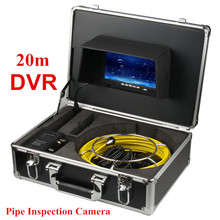 7 inch TFT LCD Display 20M Cable industry Endoscope Camera System with DVR