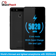Vernee Thor E 4G Mobile Phone 5.0 inch HD IPS Octa Core Android 7.0 3GB RAM 16GB ROM 8MP Cam Fingerprint ID 5020mAh Big Battery