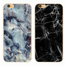 "2016 Phone Cases For iPhone 5 Case hard Granite Marble Stone image Painted Back Cover For iphone5 5S SE 6 6S 4.7"" Plus 5.5"" Capa"