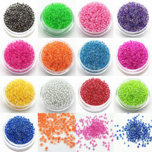 2mm Czech Seed Spacer Beads 3000pcs/Lot Mini Glass Seed Beads Diy Jewelry Making Material For Handmade Jewellery Fittings(China)