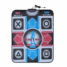 Non-Slip Durable Wear-resistant Dancing Step Dance Mat Pad Pads Dancer Blanket to PC with USB for Bodybuilding Fitness(China)