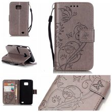 TUKE Stand Wallet Leather Case For Samsung Galaxy S2 SII i9100 Luxury Phone Bag Cover Flip with Card Slot Holder