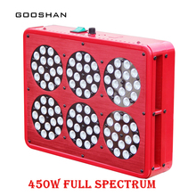 Multi-Grow Lights LED Apollo 450W Grow Light Kit Full Spectrum With Lens Pants Grow Faster Flower Bigger High Yield Hot(China)