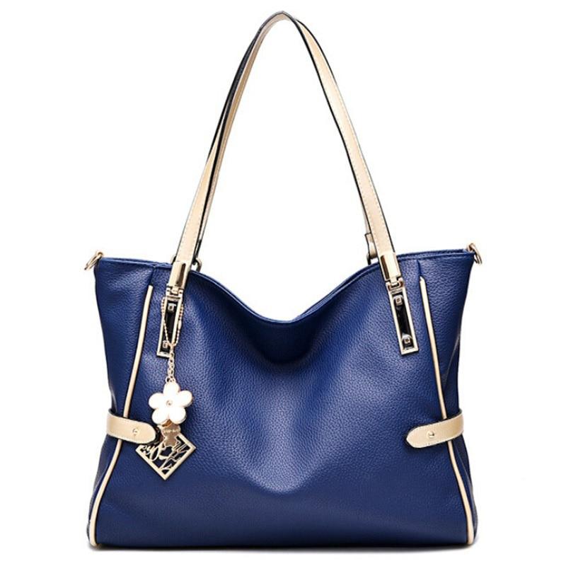 2017 New  Fashion Women Leather Handbag Famous Brand PU Leather Shoulder Bag Luxury Handbag Women  Designer Bag WZ17<br><br>Aliexpress