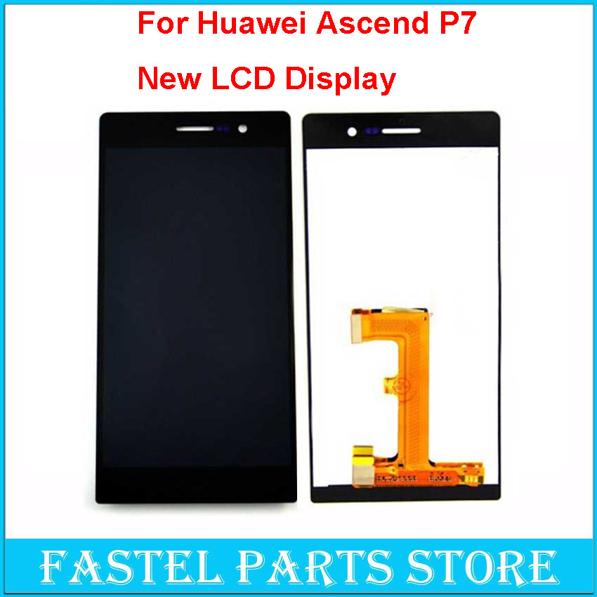 100% New 5.0 Inch Lcd Display For Huawei Ascend P7 Touch LCD Screen + Touch Screen Replacement For Huawei P7 LCD <br><br>Aliexpress