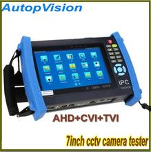 7 Inch IPC-8600  IP Camera CCTV Security Tester IPC Tester ONVIF/ More IPCamera Cable/POEtest +AHD/HDCVI/HDTVI Camera Tester