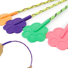 1 pcs Random Color Silicone Training Dog Pat Love Beat for Small Dogs Cats Pet Training Toys