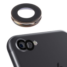 Sanheshun Metal Aluminum Frame Camera Lens Back Glass Lens Cover for iPhone7 Lens Glass Replacement Holder Frame(China)