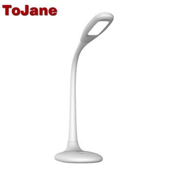 ToJane TG109-C Led Desk Lamp 3-Level Brightness&Color Led Table Lamp Eye Friendly Led Reading Lampe Bureau USB Charge Desk Light