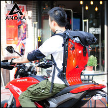 25L ANOKA Motorcycle Riding Hard Shell Luggage Backpack Shoulder Waterproof Motocroos/Moto Racing Protective Drop ABS Tank Bags