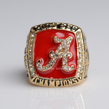 Another Version Replica National College 2009 Alabama Crimson Tide  High Quality Championship Ring Size 11