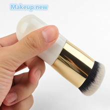 HOT SALE makeup brushes brushe chubby pier foundation brush flat the portable BB cream makeup brush Professional Beauty tools