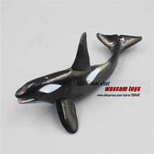 Hot toys Killer whale Simulation model Marine Animals Sea Animal kids gift educational props (Orcinus orca ) Action Figures(China)