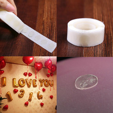 Birthday Decoration 100pcs/lot New Removable Stickers Balloons Glue Wedding Party Supplies Accessories