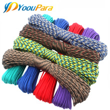 252 Colors 100FT Paracord 550 Paracord Rope Cuerda Escalada Mil Spec Type III 7Strand Paracorde Outdoor Campling Survival Kit