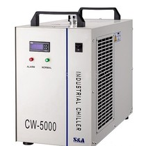 S&A CW5000 Industry Air Water Chiller for CO2 Laser Engraving Cutting Machine