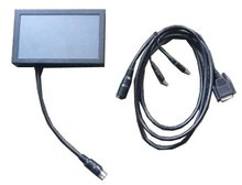 7' Metal Cover VGA Touch Screen Monitor for Industrial PC .mini pc  monitor MINI-itx Display