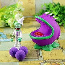 2017 new game swept the world of plants and Zombies new popular PVZ Plants vs. Zombies PVC action graph model toys 10cm(China)