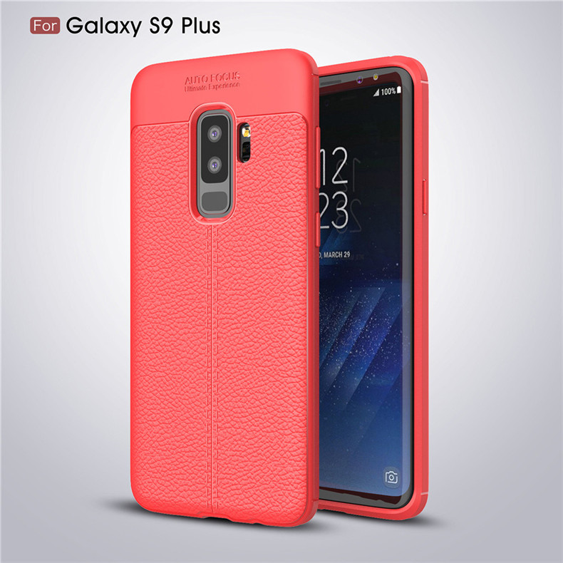 Lenuo case for Samsung Galaxy S9 Plus explosion-proof TPU soft mobile phone cover for Samsung Galaxy S9+ silicone shell cases 16