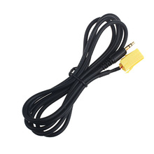 DATA top quality New Audio AUX Car Accessory 3.5mm AUX Stereo Audio Line Input Cable For Fiat Alfa Romeo Lancia feb23