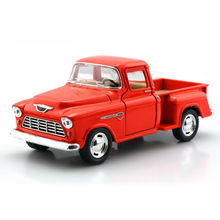 KINSMART 1:32 Scale Emulational Alloy Diecast Models Car Toys, Brinquedos, Pull Back Toy Car, Doors Openable Truck