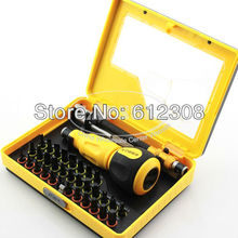 34 In 1 Precision Torx Socket Screw driver Screwdriver Set Hex Cross Philips Tools Kit Case For Mobile iPhone TV Computer 9173